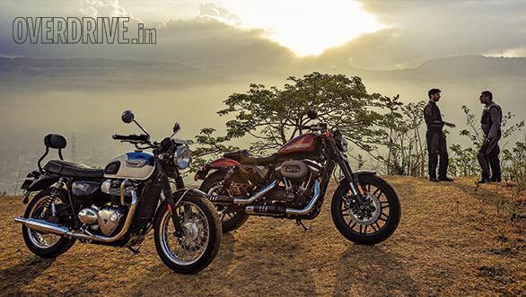 Harley-Davidson Roadster vs Triumph Bonneville T100 (3)