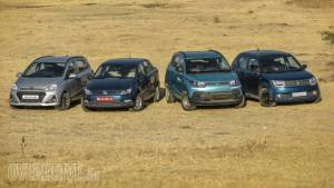 Comparison: Hyundai Grand i10 vs Mahindra KUV100 vs Maruti Suzuki Ignis vs Volkswagen Ameo