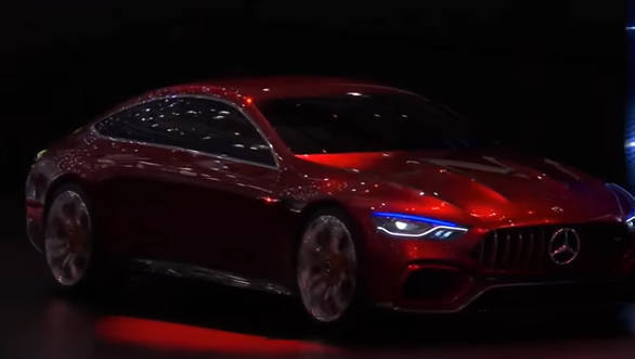 Mercedes-AMG GT Concept previews new four door grand tourer at 2017 Geneva Motor Show