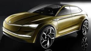 2017 Shanghai Motor Show: Skoda Vision E concept SUV unveiled