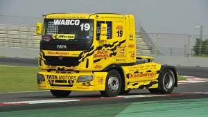 2017 Tata T1 Prima Truck Racing: David Vrsecky grabs pole in Pro class