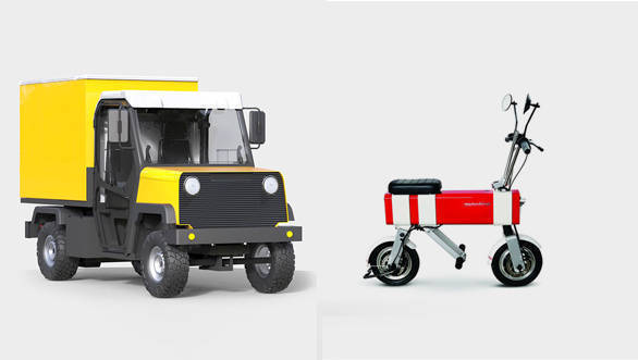 Vanda MotoChimp and Ant Truck