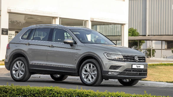 Volkswagen announces start of production for the Tiguan in India 1