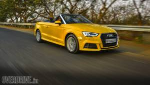 2017 Audi A3 Cabriolet road test review
