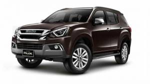 Isuzu MU-X to be launched in India on May 11, 2017