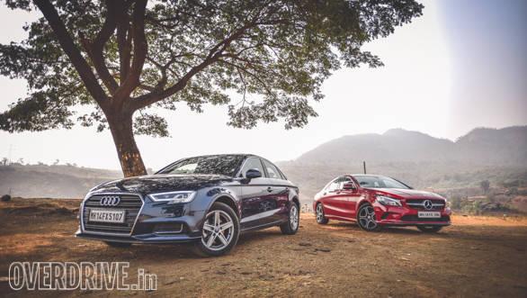 Audi A3 Petrol vs Mercedes CLA 200 (5)
