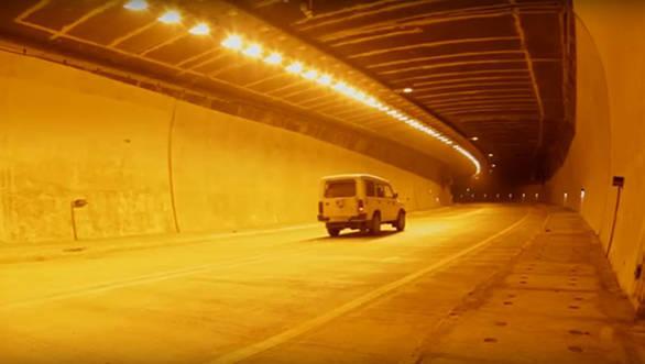 Highway Chenani Nashri tunnel