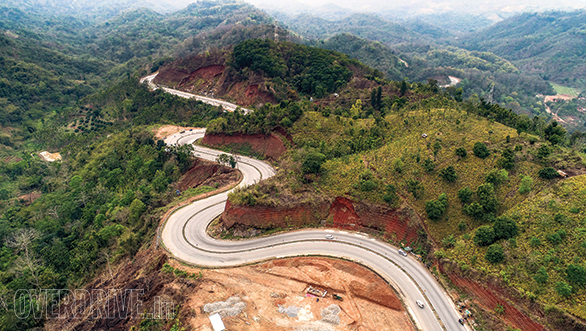This winding ribbon of concrete in Meghalaya is a delight for corner carvers