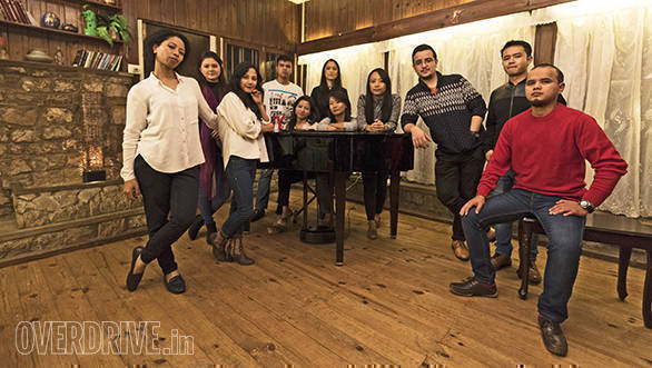 We were treated to special performance by the awesome Shillong Chamber Choir,