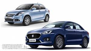 Difference between old and new Maruti Dzire