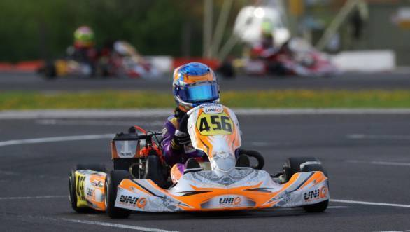 Shahan Ali Mohsin claimed second place in the Final and Super Final races at of the Rotax