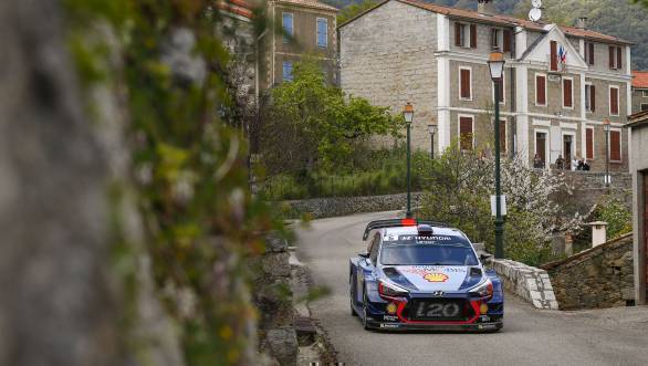 Thierry Neuville took victory for Hyundai at Corsica