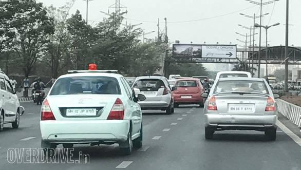 traffic, VIP, red beacon