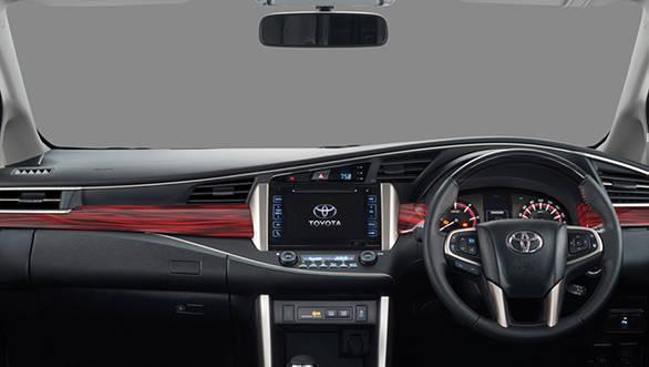 2017 Toyota Innova Crysta Touring Sport dashboard