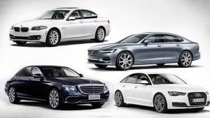 Spec comparison: 2017 Mercedes-Benz E-Class E350d vs Audi A6 35 TDI vs BMW 5 Series 520d vs Volvo S90 D4 Inscription