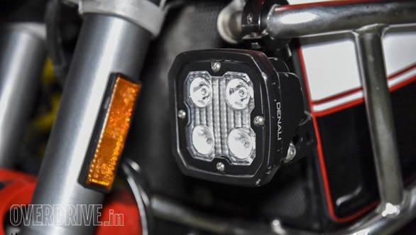 Denali D4 auxiliary motorcycle LED light