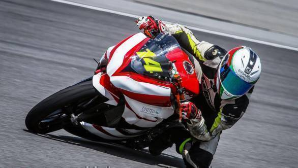 Dinesh Kumar took two top 10 finishes in the 250cc class at Round 2 of the Malaysian Superbike Championship