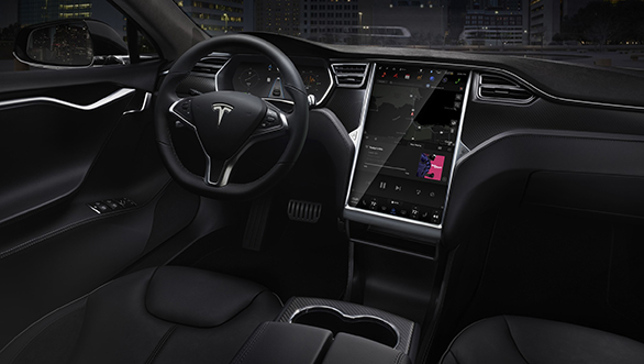 Tesla interior Electric cars