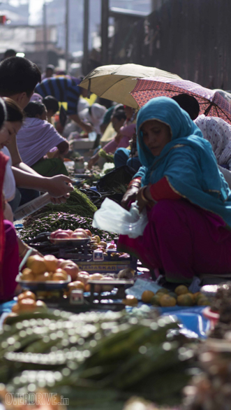 The Ima bazaar in Imphal is the worlds largest market, run by women