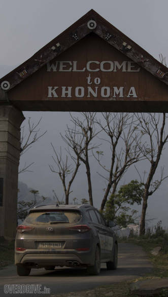 The Kohnoma village is Asia's first green village. It gets this name because villagers do not hunt animals to cut trees