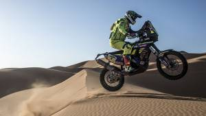 Merzouga Rally 2017: Sherco TVS Racing's Joan Pedrero Garcia stands fifth after Stage 3