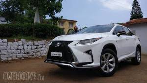 2017 Lexus RX 450h first drive review