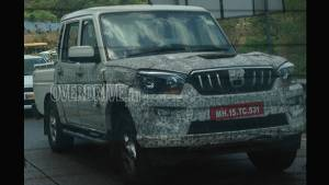 Spied: Next-gen Mahindra Scorpio Getaway single cab and dual cab caught testing