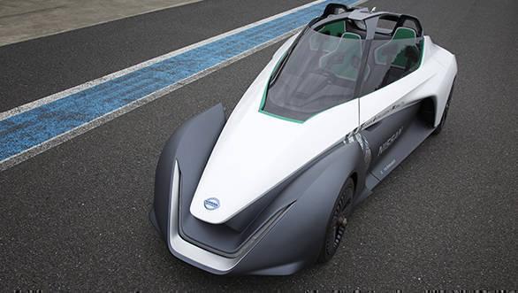 Nissan Intelligent Power_LEAF NISMO RC3-3