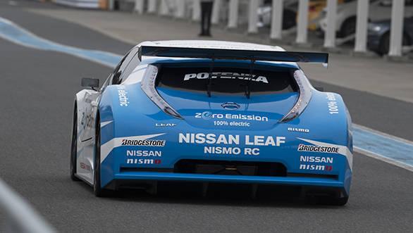 Nissan Intelligent Power_LEAF NISMO RC3