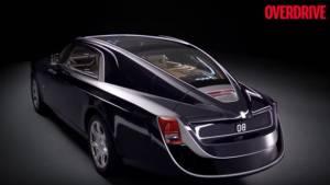 Rolls-Royce Sweptail: A one-off, luxury yacht on wheels