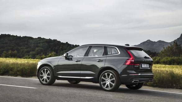 New Volvo XC60 rear 3/4 exterior