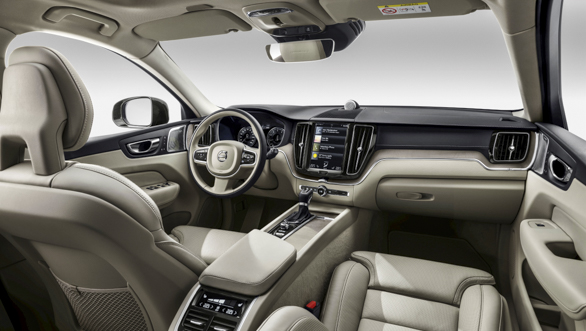 The new Volvo XC60 cabin