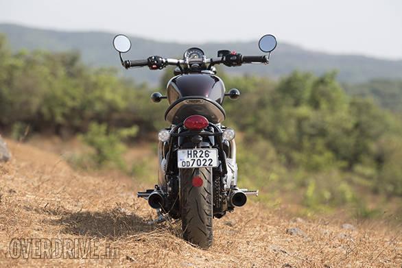 Triumph Bonneville Bobber -rear