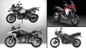 Spec comparison: BMW R 1200 GS vs BMW R 1200 GSA vs Ducati Multistrada Enduro vs Triumph Tiger XCx