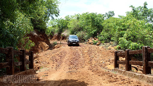 Driving on the dirt trails was enjoyable and the Fortuner coped well with the rugged conditions