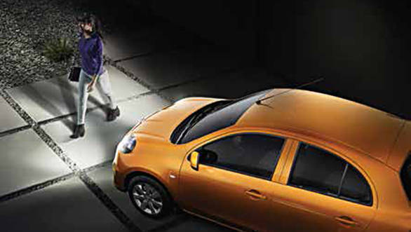 The 2017 Nissan Micra Active comes with follow me headlamps