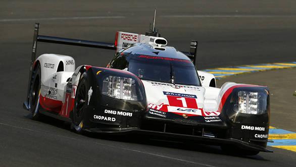 2017 WEC Le Mans Porsche Racing