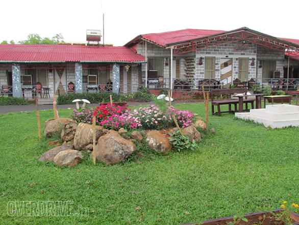 Sawai Mansing Resort where we stayed at in Amba Ghat