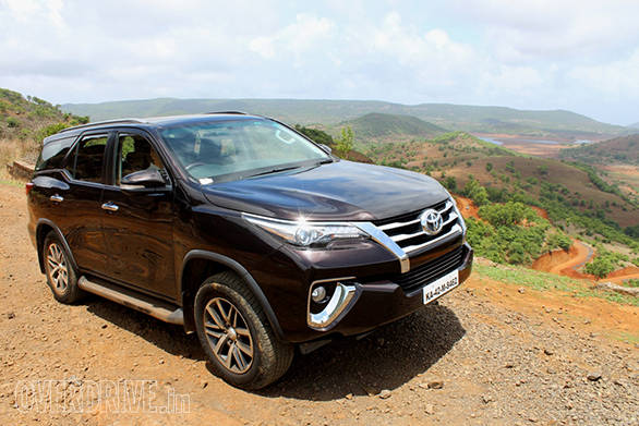 8- The new Toyota Fortuner proved to be a good partner for this expedition