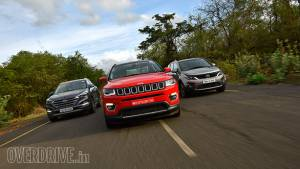 Comparison: 2017 Jeep Compass vs Hyundai Tucson vs Tata Hexa