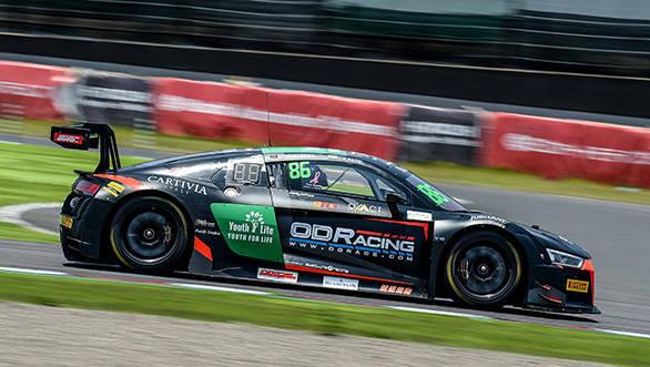 Aditya Patel Blancpain GT Series Asia