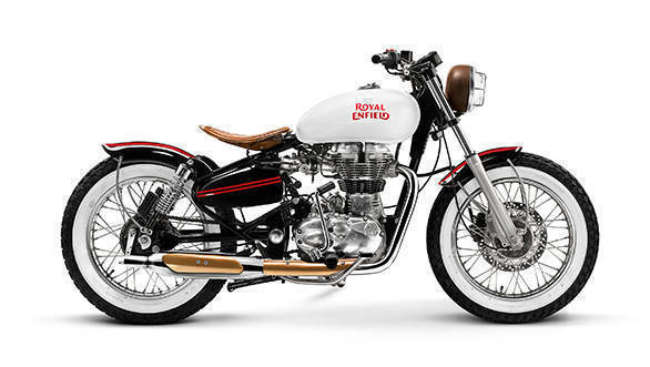 Custom Classic 500 by Inline 3 Motorcycles