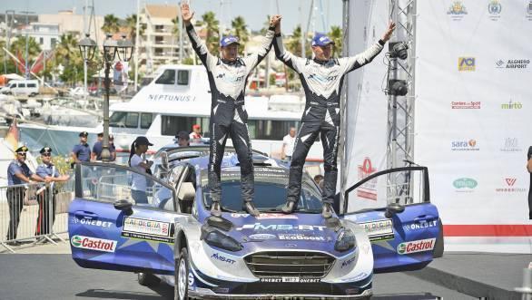 I17 Winner podium Tanak
