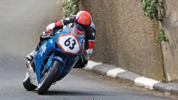 Jochem van den Hoek was killed during the Supersport race on Wednesday