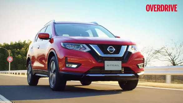 India Bound 2017 Nissan X Trail Facelift Revealed Details And Specifications Overdrive