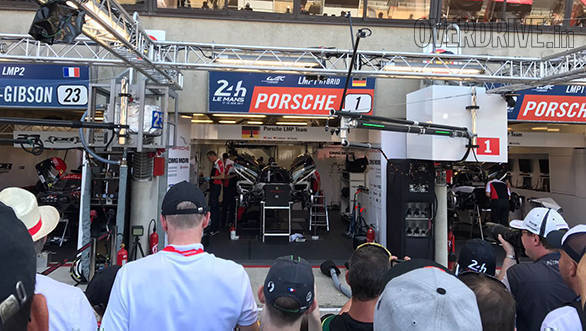 The pressure on the No.1 Porsche to defend their title is immense. Especially since Fritz Enzinger, VP, LMP1 has already declared that they want a hat-trick!