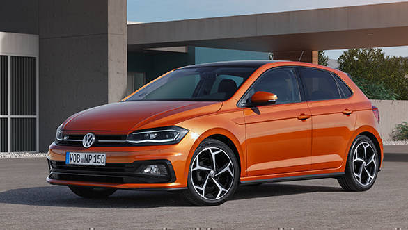 The Polo is instantly recognisable as a Volkswagen. The 6th generation though is bigger and claimed to be lighter too