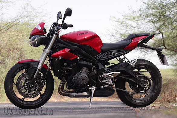 Triumph Street Triple S 675 (15) NEW