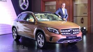 2017 Mercedes-Benz GLA launched in India at Rs 30.65 lakh