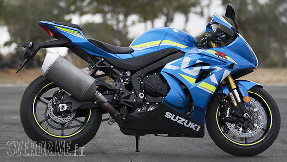 2017 Suzuki GSX-R1000R side static